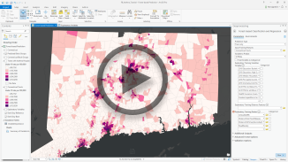 Using Spatial Statistics for data mining and cluster analysis